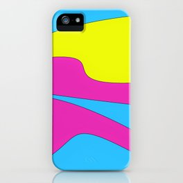Colors in Sound Neon iPhone Case