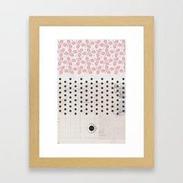 mobile case Framed Art Print