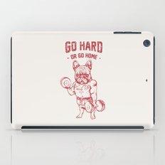 GO HARD OR GO HOME FRENCHIE iPad Case