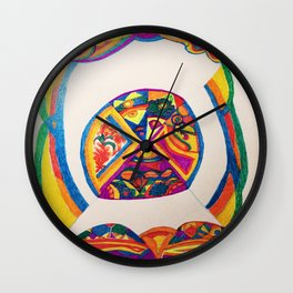 The Eyes From Which Nothing is Hidden Wall Clock