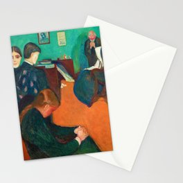 Death in the Sickroom - Digital Remastered Edition Stationery Cards