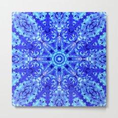 kaleidoscope Flower G95 Metal Print