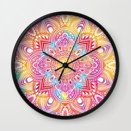Madala Ombre Colorful Wall Clock