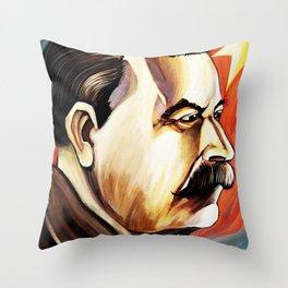 Staline Throw Pillow