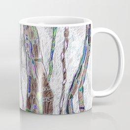 Weaving the Thread: Strands of Life Coffee Mug
