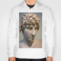 greece Hoodies featuring Classic. Greece. by Andrew Brown