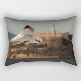 Alcatraz Freedom Rectangular Pillow