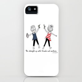 Straight Up USA!  iPhone Case