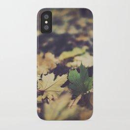 fall duet iPhone Case