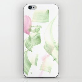 180515 Abstract WP 2   Watercolor Brush Strokes iPhone Skin