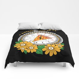 It's Pizza Time Comforters