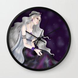 The Purple Queen Wall Clock