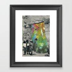 Chaos around Framed Art Print