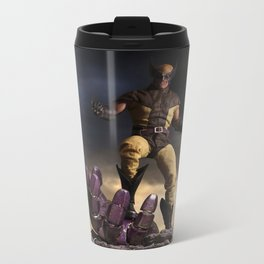X-Men: Sentinel Diorama Series I (Logan) Metal Travel Mug