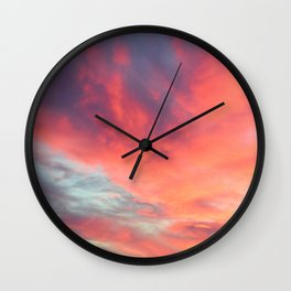 Angels in the Morning: Sunrise Wall Clock