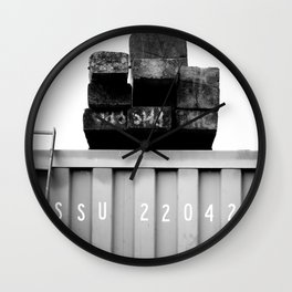 Padstow Container  Wall Clock