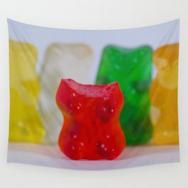 Losing My Mind (The Gummie Bears Photo Original) Wall Tapestry