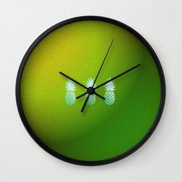 Eternal Circle of Pineapples Wall Clock