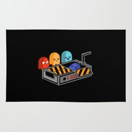 Pacman funny Rug