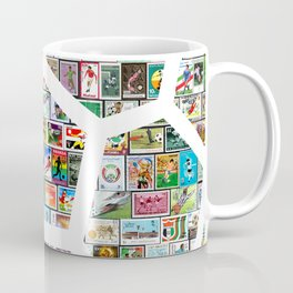 Philately Soccer Ball Coffee Mug