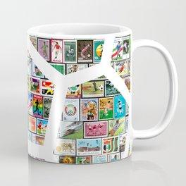 Philately Soccer Ball Coffee Mug