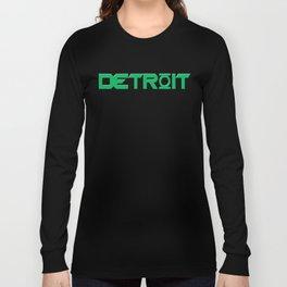 "Green Lantern - ""Detroit's Brightest Day"" - Dark T-Shirts - 2012 Long Sleeve T-shirt"