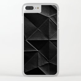 FOLDED Clear iPhone Case