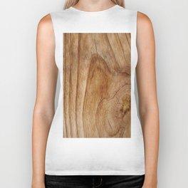 Natural Wood Texture for Wood Artworks Lovers. Biker Tank