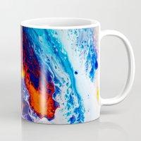 return Mugs featuring Return by Kimsey Price
