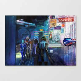 The Edge of the Rookeries Canvas Print
