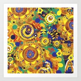 Pra Oxum Art Print