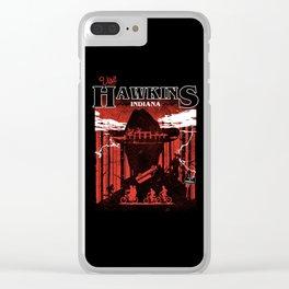 Strange Travel Clear iPhone Case