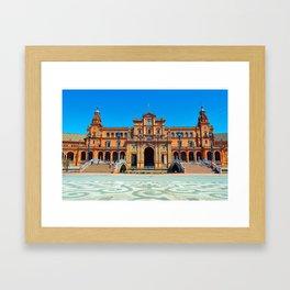 Plaza del Rey Framed Art Print