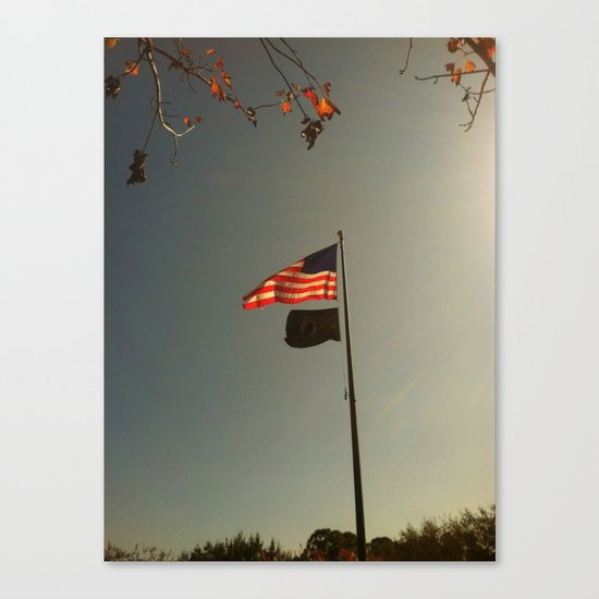 Freedom Flag Canvas Print