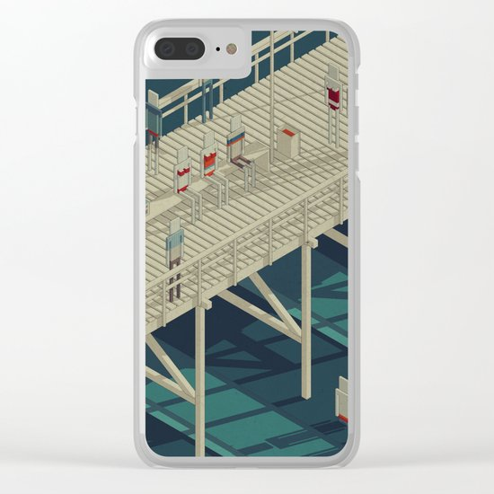Habitat 25 Clear iPhone Case