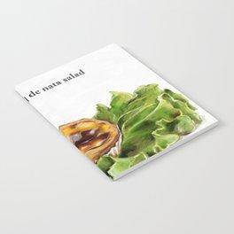 La Cuisine Fusion - Pastel de Nata Salad Notebook
