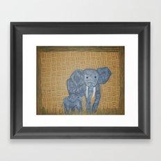 Mama E Framed Art Print