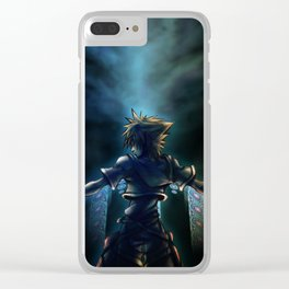 Dive to the heart - dark Clear iPhone Case