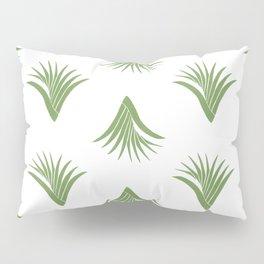 Pandanus Leaf Pattern - Green Pillow Sham