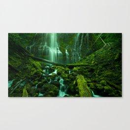 Proxy Falls (Fine Art Landscape Photography) Canvas Print