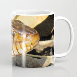 Watercolor Snake, Red-bellied Water Snake 01, Merchants Millpond, North Carolina Coffee Mug