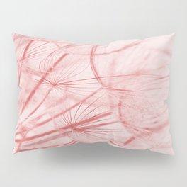 Dandelion In Pink Pillow Sham