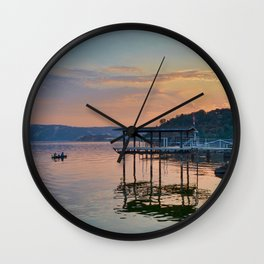 magic on the water Wall Clock
