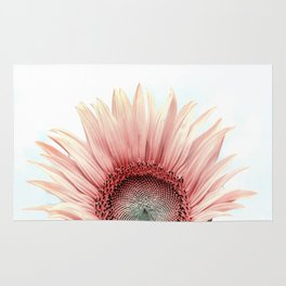 Pink Sunflower Rug