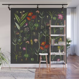 Exquisite Botanical Wall Mural