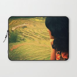 Lookin' Back Laptop Sleeve