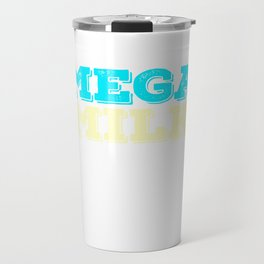 """Looking and craving for a """"Mega Milk"""" Wear it anytime with this simple and fantastic tee! Travel Mug"""