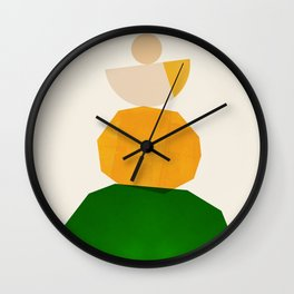 Abstraction_Balance_ROCKS_Minimalism_003 Wall Clock