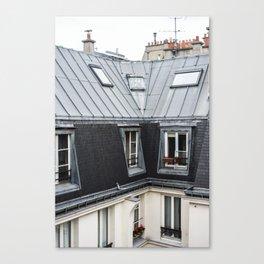 Paris Rooftops Canvas Print