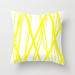 Super Sunny Throw Pillow